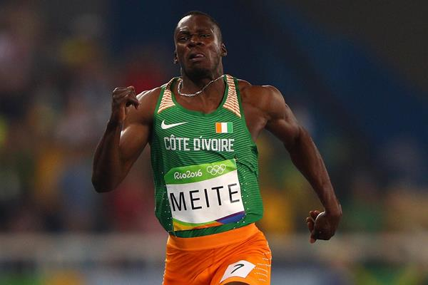 Ben Youssef Meite at the Olympic Games in Rio (Getty Images)