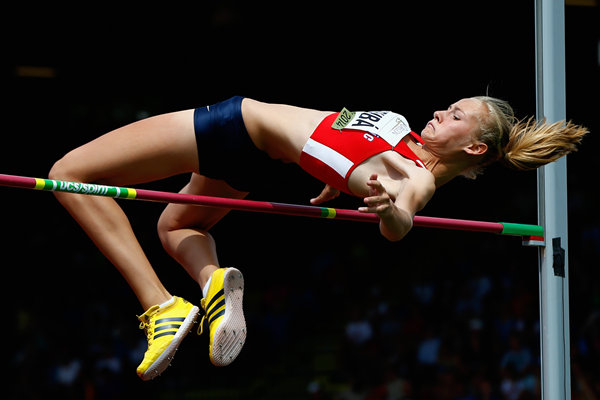 Czech high jumper Michaela Hruba (Getty Images)
