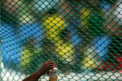 Arasay Thondike of Cuba wins silver at the Pan Am Games (Getty Images)