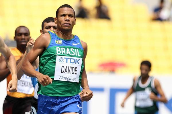 Brazilian 800m runner Kleberson Davide (Getty Images)