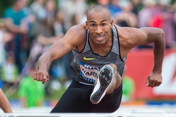 Damian Warner at the 2016 Hypo Meeting in Gotzis (Getty Images)
