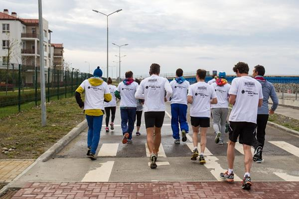 .IAAF ABW sponsored Morning Run in Sochi on 22 April 2015 (Getty Images)