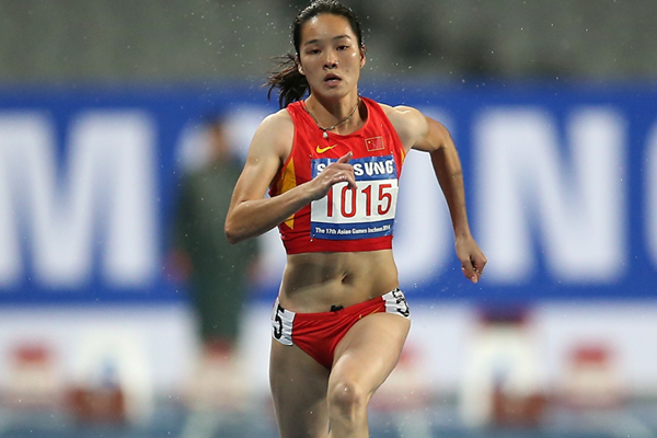Chinese sprinter Wei Yongli (Getty Images)