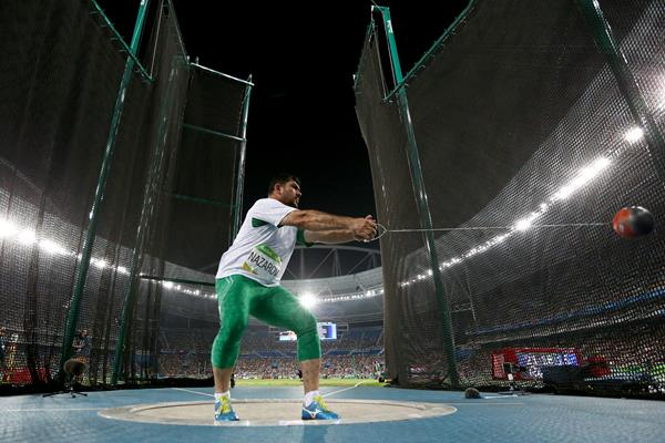 Dilshod Nazarov in the hammer at the Rio 2016 Olympic Games (Getty Images)