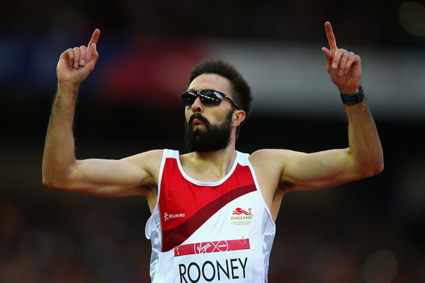 Martyn Rooney at the Commonwealth Games (Getty Images)