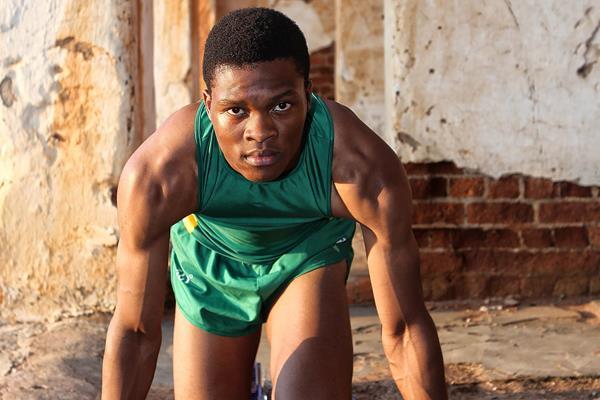 South Africa's sprint prodigy Tlotliso Leotlela (Reg Caldecott)