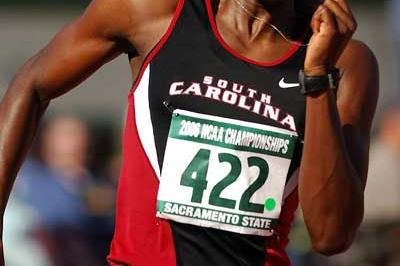 Shalonda Solomon, South Carolina, women's 100m, 200m and 4 x 100m Finalist - NCAA (Kirby Lee)