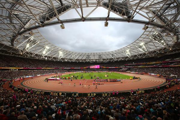 A capacity crowd at London Stadium at the IAAF World Championships London 2017 (Getty Images)