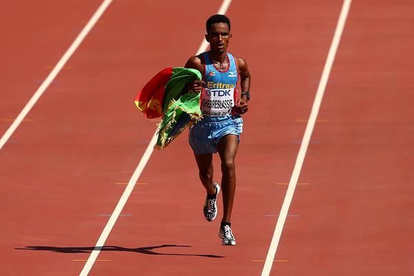 Ghirmay Ghebreslassie, 2015 world marathon champion (Getty Images)