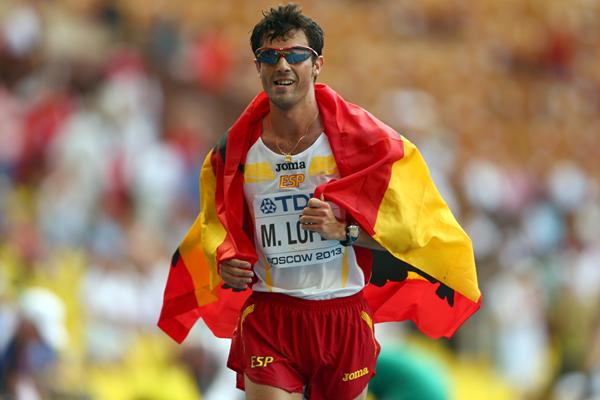 Spanish race walker Miguel Angel Lopez (Getty Images)