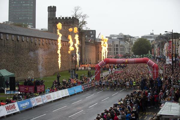 The start of the Cardiff Half Marathon (Organisers)