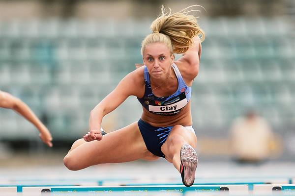 Australian sprint hurdler Elizabeth Clay (Getty Images)