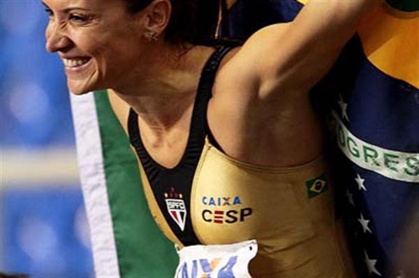 Maurren Maggi in Rio (Wagner Carmo/CBAt)