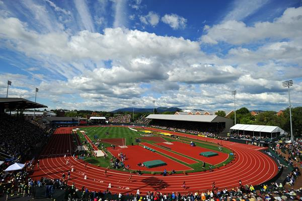 Hayward Field in Eugene (Getty Images)