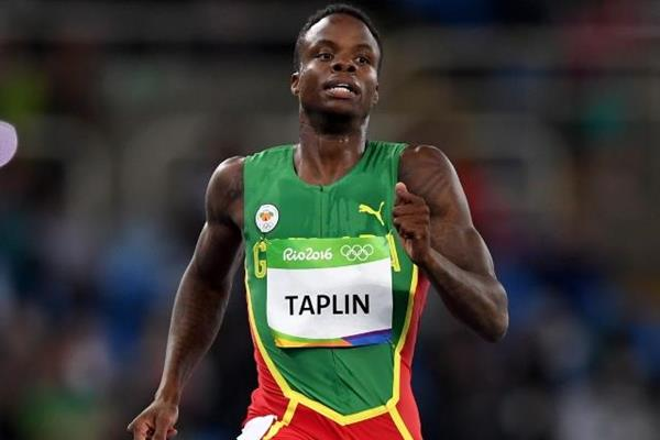 Bralon Taplin in the 400m heats at the Rio 2016 Olympic Games (Getty Images)