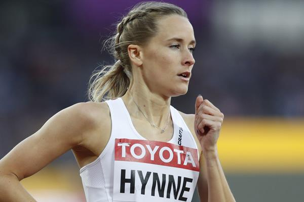 Norwegian 800m runner Hedda Hynne (AFP / Getty Images)