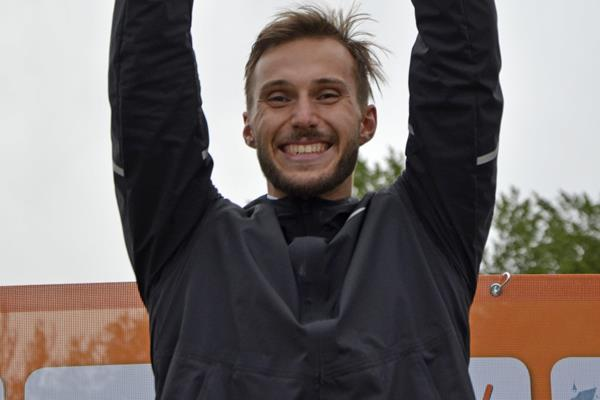 Jan Dolezal after winning the decathlon at the Multistars IAAF Combined Events Challenge meeting in Lana (Daniele Morandi)