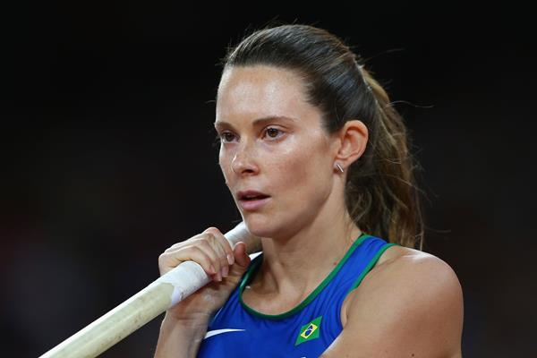 Fabiana Murer at the IAAF World Championships Beijing 2015 (Getty Images)