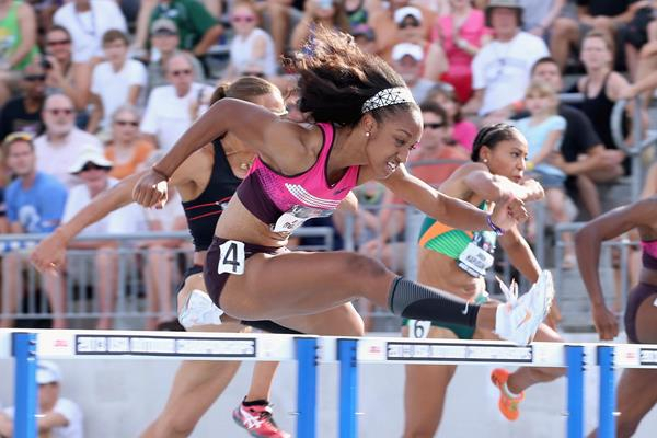 US sprint hurdler Brianna Rollins (Getty Images)