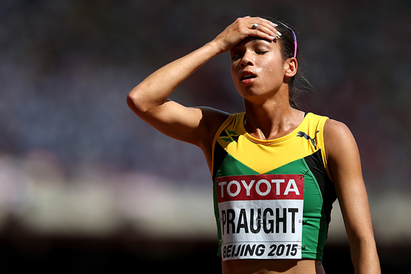 Aisha Praught at the IAAF World Championships Beijing 2015 (Getty Images)