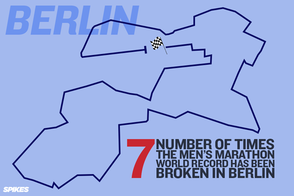 Berlin Numbers Graphic ()