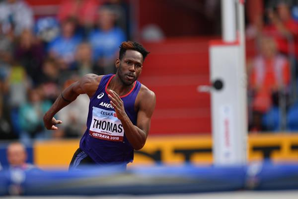 Donald Thomas at the IAAF Continental Cup Ostrava 2018 (Getty Images)
