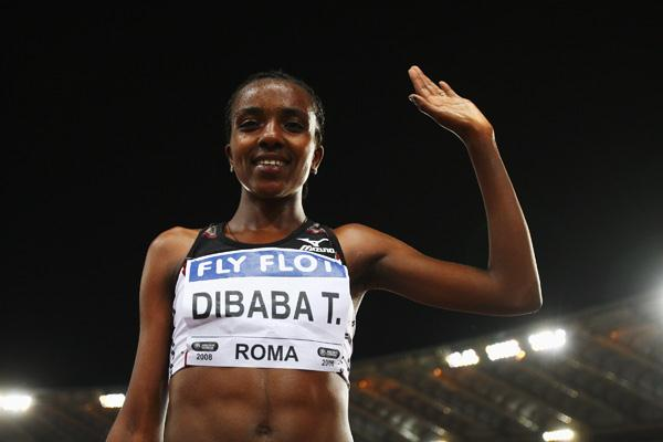 Tirunesh Dibaba makes it another 5000m victory in Rome (Getty Images)
