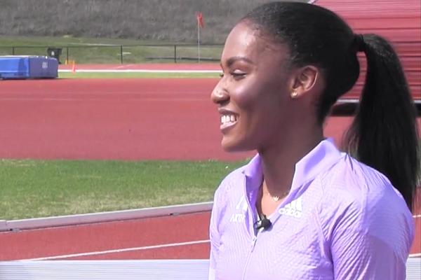 Ajee Wilson on IAAF Inside Athletics  (IAAF)