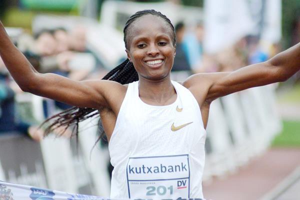 Hellen Obiri wins at the Cross Internacional Juan Muguerza in Elgoibar (Asociación ANOC)