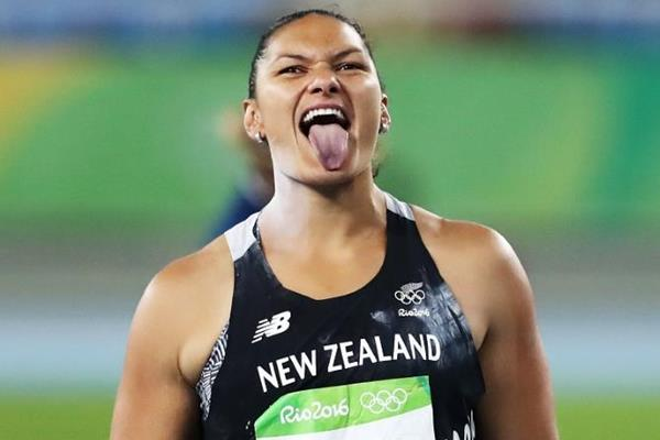 Valerie Adams in the shot put at the Rio 2016 Olympic Games (Getty Images)