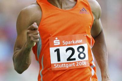 Gay now third fastest ever - 19.68 in Stuttgart (Getty Images)