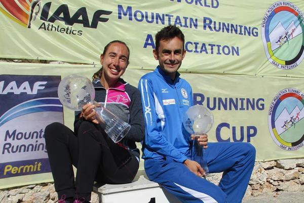2017 WMRA World Cup winners Alice Gaggi and Alex Baldaccini (organisers)