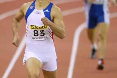 Roman Sebrle (CZE) wins the Heptathlon World title in Budapest (Getty Images)
