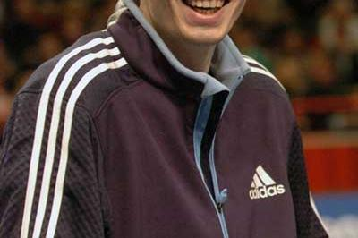 A smiling Yaroslav Rybakov after his win in Stockholm (Hasse Sjögren)