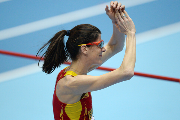 Spanish high jumper Ruth Beitia (AFP / Getty Images)