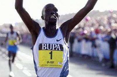 Paul Kosgei wins Great North Run (Getty Images)