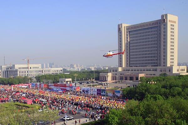 Yellow River Estuary Marathon in Dongying, China (Organisers)