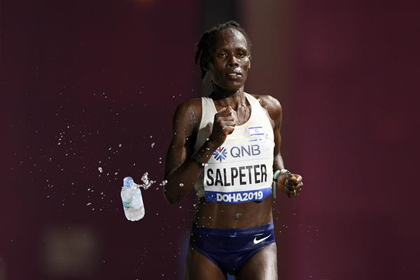 Lonah Chemtai Salpeter at the IAAF World Athletics Championships Doha 2019 (Getty Images)