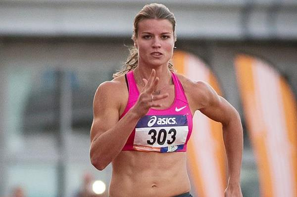 Dutch sprinter Dafne Schippers on her way to victory (Getty Images)