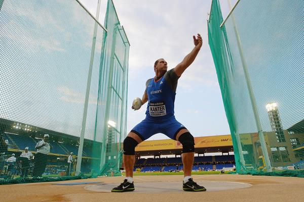 Gerd Kanter, winner of the discus at the IAAF Continental Cup, Marrakech 2014 (Getty Images)