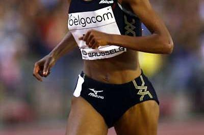 Meseret Defar on her way to destroying the World best for Two Miles (Getty Images)