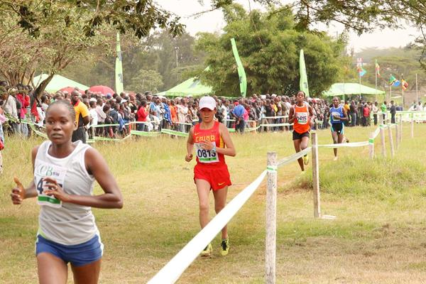 Two of Renato Canova's Chinese athletes entered the 2014 Kenyan Cross Country Championships (Jon Rosen)