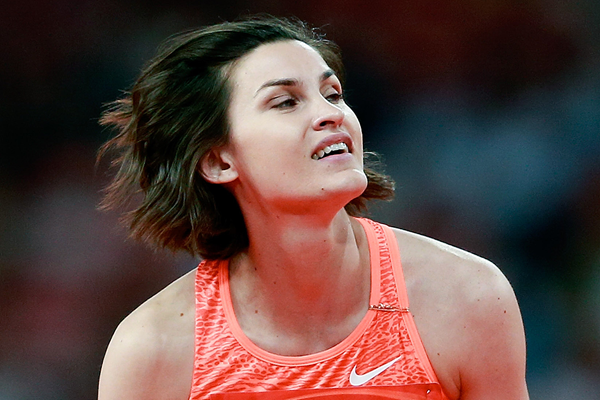 Anna Chicherova, winner of the high jump (Getty Images)