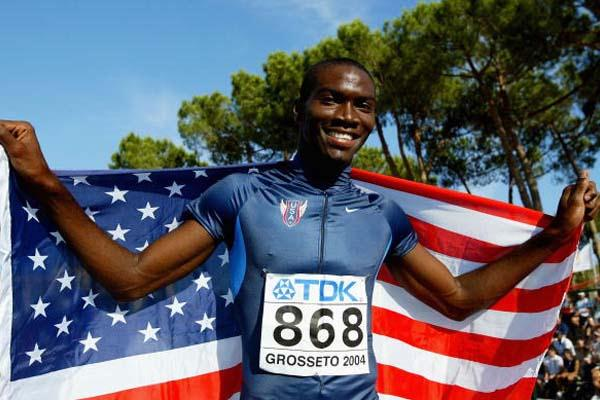 Kerron Clement of USA celebrates his 400m Hurdles victory (Getty Images)