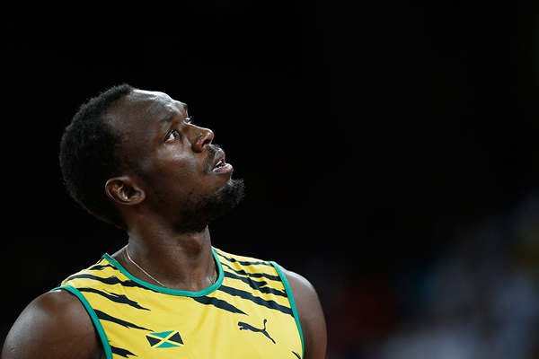 Usain Bolt at the IAAF World Championships Beijing 2015 (AFP / Getty Images)