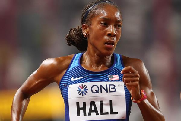 US distance runner Marielle Hall (Getty Images)