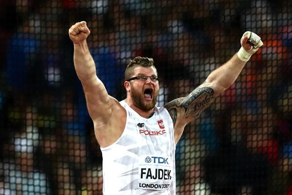 Pawel Fajdek wins the hammer at the IAAF World Championships London 2017 (Getty Images)