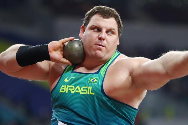 Brazilian shot putter Darlan Romani (Getty Images)