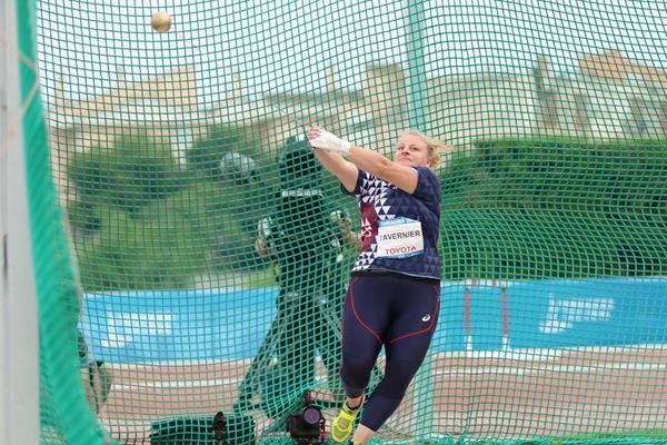 Alexandra Tavernier, Mediterranean Games hammer champion (Foto Tarragona 2018)