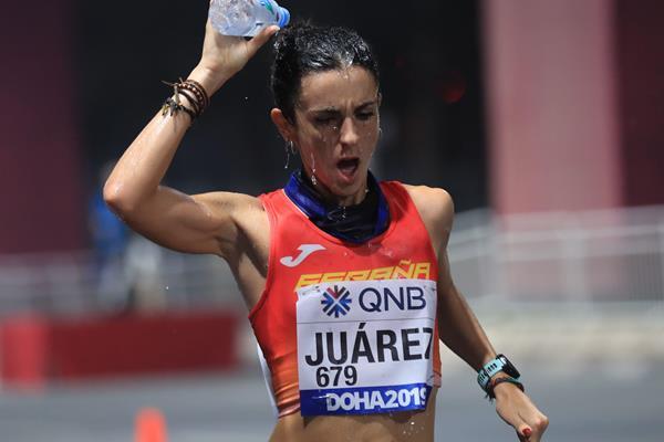 Spanish race walker Maria Juarez (AFP / Getty Images)
